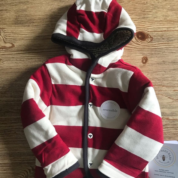 Burt's Bees Baby Other - Reversible jacket - NWT